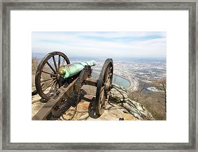Usa, Tn, Chattanooga Framed Print by Trish Drury
