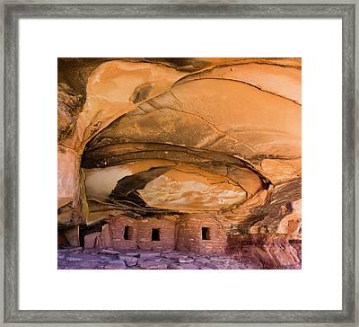 Usa, Utah, Blanding Framed Print by Charles Crust