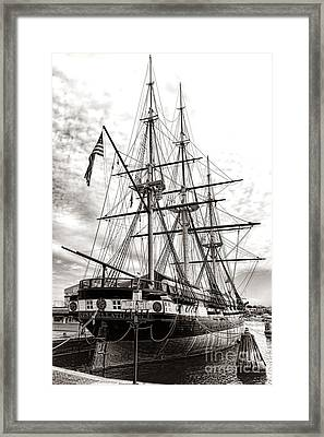 Uss Constellation Framed Print by Olivier Le Queinec