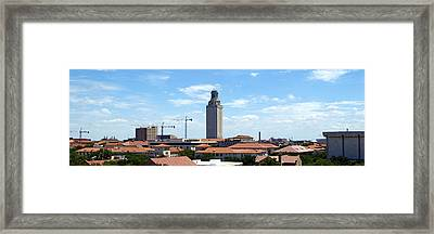 Ut Tower 2009 Framed Print by James Granberry