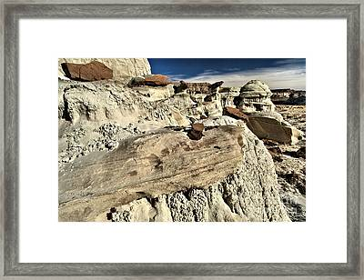 Utah Erosion Framed Print by Adam Jewell