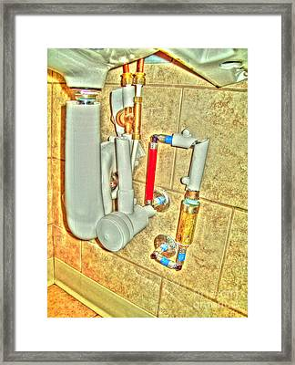 Utile Framed Print by MJ Olsen