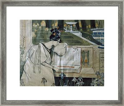 Utrillo, Miquel 1862-1934. Fulls De La Framed Print by Everett
