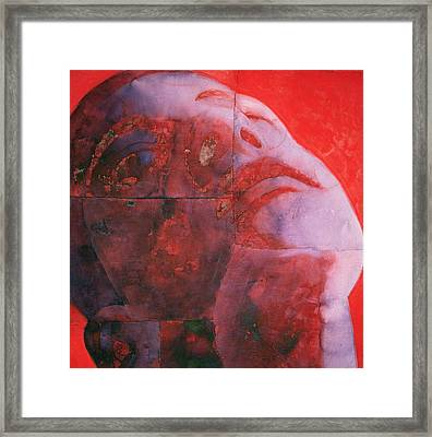 Uv Head Framed Print by Graham Dean