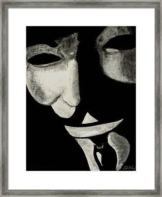 V Framed Print by Dale Loos Jr