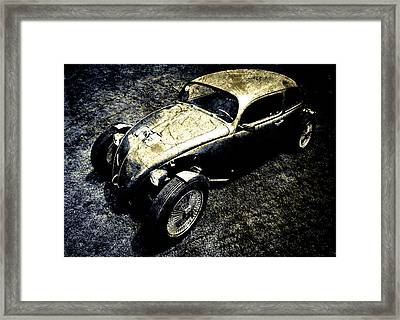 V Dub Grunge Framed Print by motography aka Phil Clark