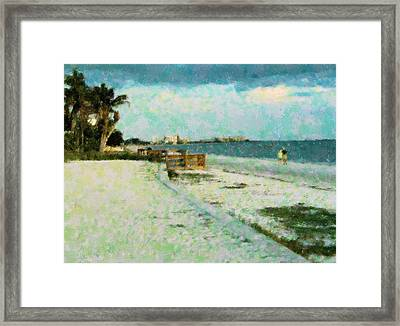 Vacation Favorite Framed Print by Florene Welebny