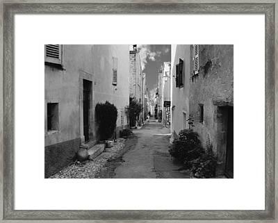 Valbonne - Provence-alpes-cote D'azur - France Framed Print by Christine Till