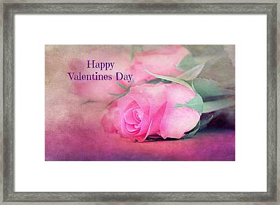 Valentines Day Framed Print by Heike Hultsch
