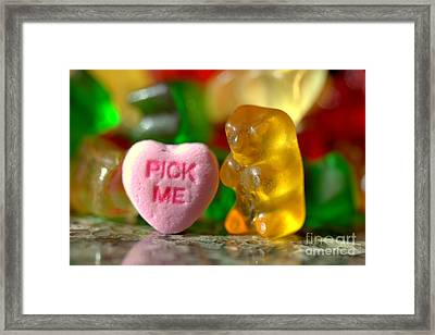 Valentines Day Framed Print by Kenny Glotfelty