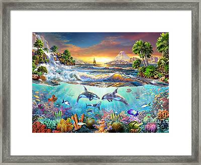 Valhala Dawn Framed Print by Adrian Chesterman