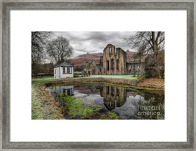 Valle Crucis Abbey Framed Print by Adrian Evans