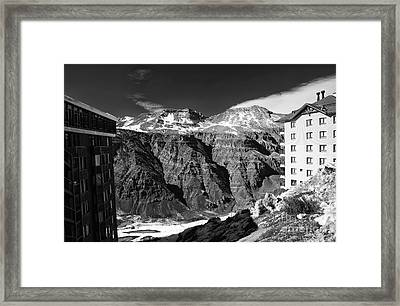 Valle Nevado View Framed Print by John Rizzuto