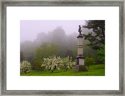 Valley Forge Framed Print by Gaetano Chieffo