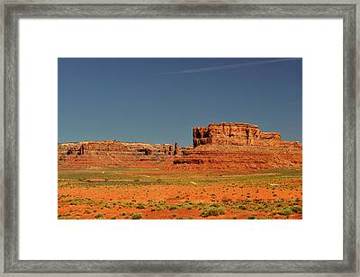 Valley Of The Gods - See What The Gods See Framed Print by Christine Till