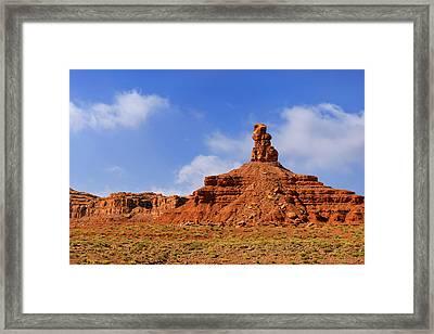Valley Of The Gods Utah Framed Print by Christine Till