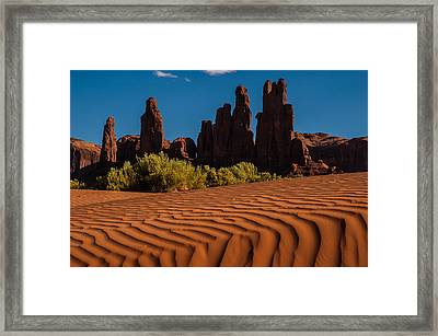 Valley Of The Rocks Framed Print by George Buxbaum