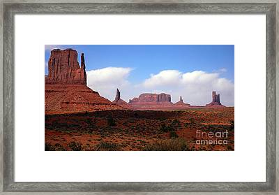 Valley Of The Rocks Framed Print by Thomas R Fletcher
