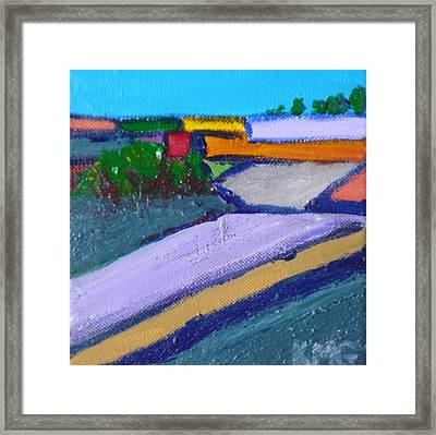 Valley Pasture Framed Print by Kimberly Maxwell Grantier