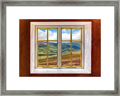 Valley View Framed Print by Semmick Photo