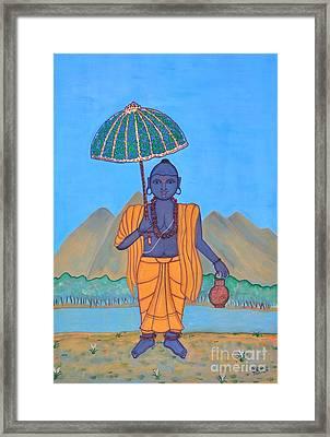 Vamanamurti Framed Print by Pratyasha Nithin