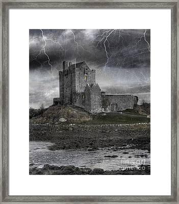 Vampire Castle Framed Print by Juli Scalzi