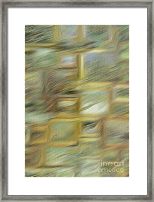 Van Gogh Bookcase Framed Print by Michael Knight
