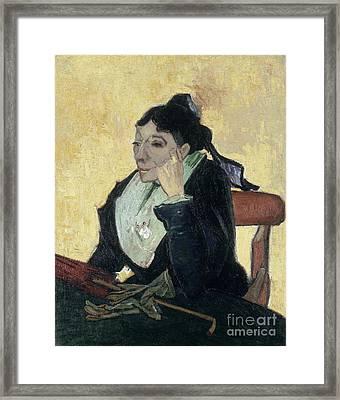Van Gogh Larlesienne 1888 Framed Print by Granger