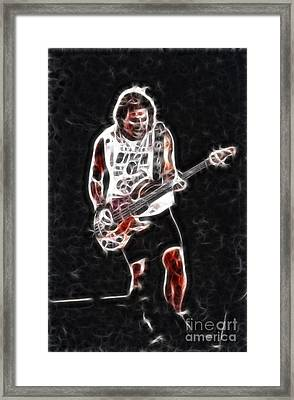 Van Halen-93-mike-gc23-fractal Framed Print by Gary Gingrich Galleries