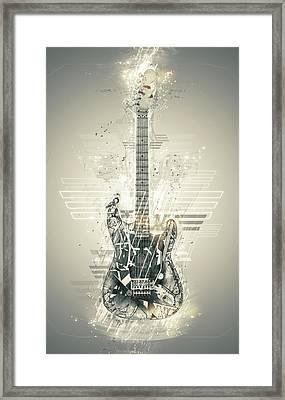 Van Halen's Frankenstrat Framed Print by Taylan Soyturk
