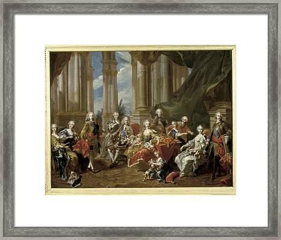 Van Loo, Louis Michel 1707-1771. Philip Framed Print by Everett