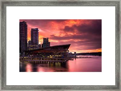 Vancouver Apocalypse Framed Print by Alexis Birkill