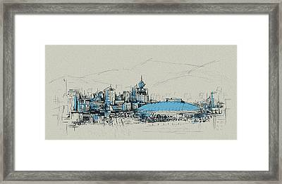 Vancouver Art 008 Framed Print by Catf