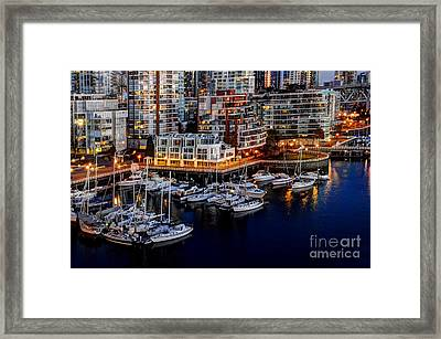 Vancouver British Columbia 10 Framed Print by Bob Christopher
