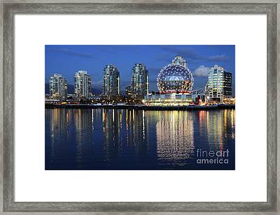 Vancouver British Columbia 3 Framed Print by Bob Christopher