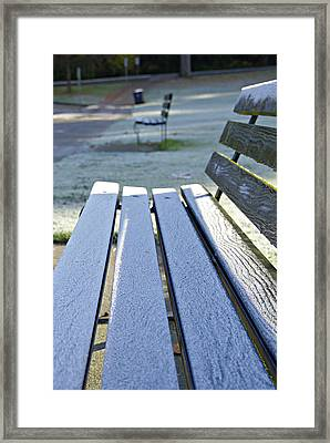 Vancouver Frosty Morning Framed Print by Marilyn Wilson