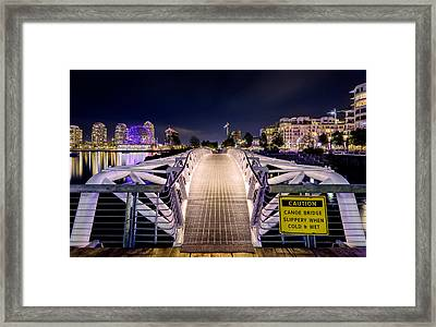 Vancouver Olympic Village Framed Print by Alexis Birkill