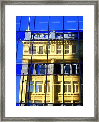 Vancouver Reflections 2 Framed Print by Randall Weidner