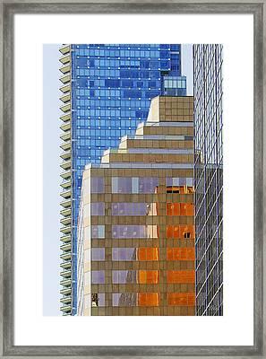 Vancouver Reflections No 1 Framed Print by Ben and Raisa Gertsberg