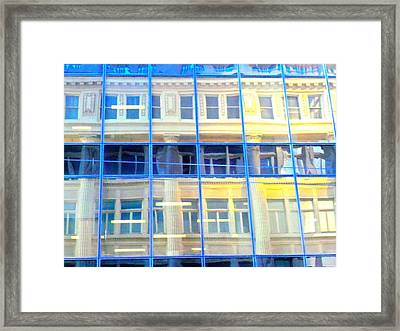 Vancouver Reflections Framed Print by Randall Weidner