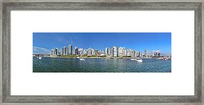 Vancouver Summer Framed Print by Dan Breckwoldt