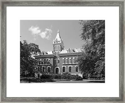 Vanderbilt University Benson Hall Framed Print by University Icons