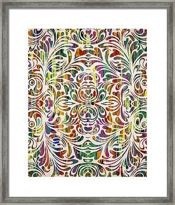 Vanity Framed Print by Sean Ward