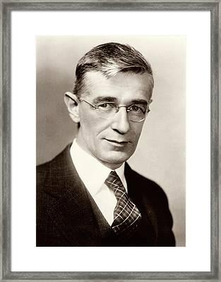 Vannevar Bush Framed Print by American Philosophical Society