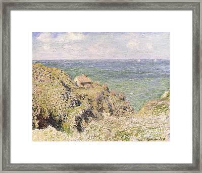 Varengeville Gorge Framed Print by Claude Monet