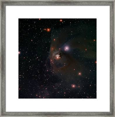 Variable Star T Tauri Framed Print by Celestial Images