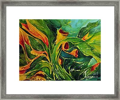 Variation  No.2 Framed Print by Teresa Wegrzyn