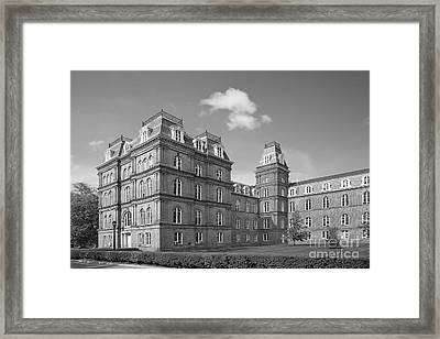Vassar College Main Building Framed Print by University Icons