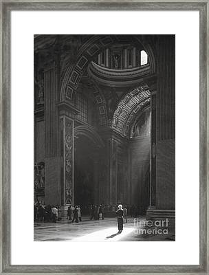 Vatican #1 Framed Print by Lionel F Stevenson