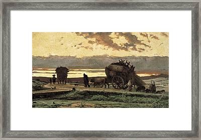 Vayreda I Vila, Joaquim 1843-1894 Framed Print by Everett